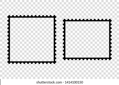 Two frames for something are depicted on a transparent background, one horizontally different vertically.