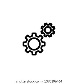Two gears icon.