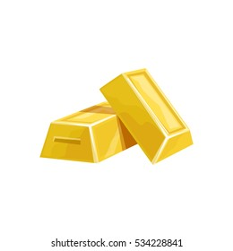 Two Golden Bars, Hidden Treasure And Riches For Reward.  Game Design Variation