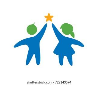 Two Kids Symbol