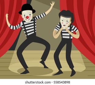 Library of actor on stage clip art free download png files ...  |Acting On Stage Cartoon