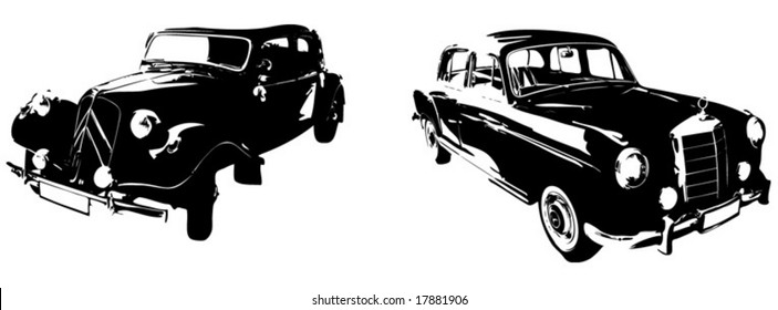 Two Old Timer Car
