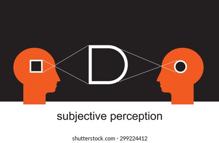 two sides of the story, subjective visual experience