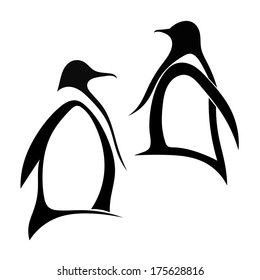 black and white penguin images stock photos vectors shutterstock