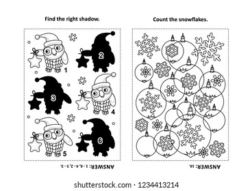 two visual puzzles coloring page 260nw