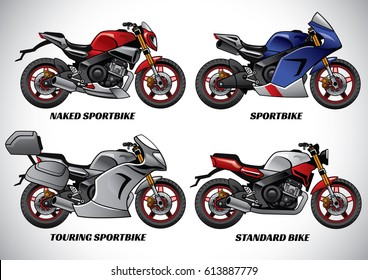 types of motorcycle part 1