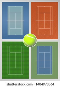 Types of Tennis Courts Surfaces
