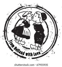 Typical Dutch stamp