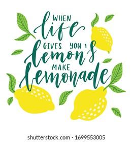 When Life Gives You Lemons Images Stock Photos Vectors Shutterstock