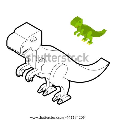 Cute T Rex Art Project