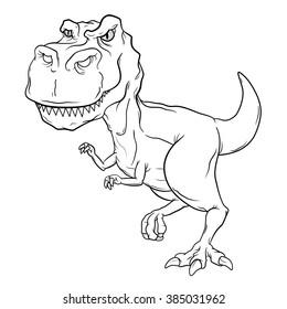 T Rex Cartoon Images Stock Photos Vectors Shutterstock