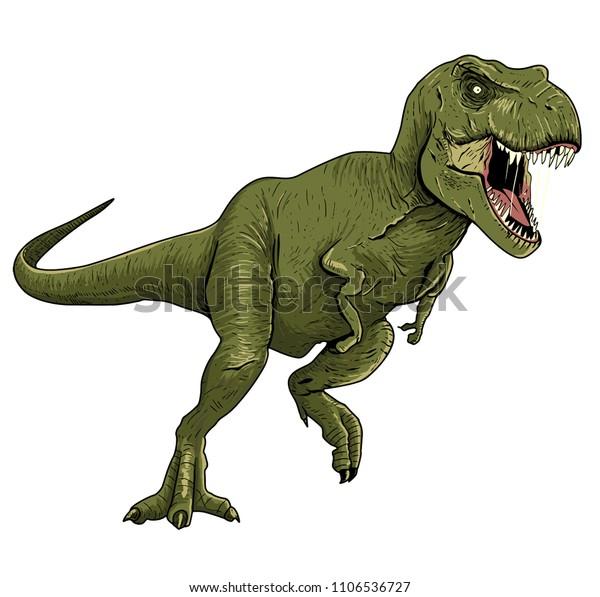 ティラノサウルス イラスト