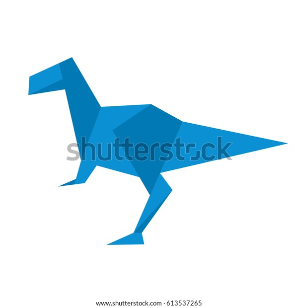T-Rex origami Fabric | Zazzle.com | 620x600