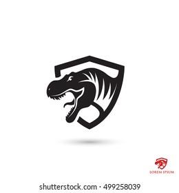 Tyrannosaurus Rex symbol - vector illustration