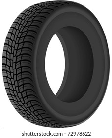 Tyre (2). The series of the detailed wheels
