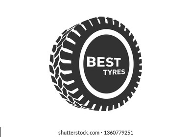 Tyre Shop Logo Design - Tyre Business Branding, tyre logo shop icons, tire icons, car tire simple icon