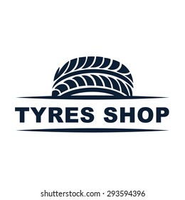 Tyre Shop Logo Design - Tyre Business Branding