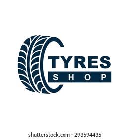 Tyre Shop Logo Design - Tyre Business Branding