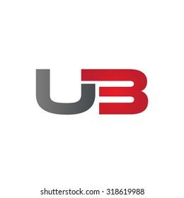 UB U3 company group linked letter logo