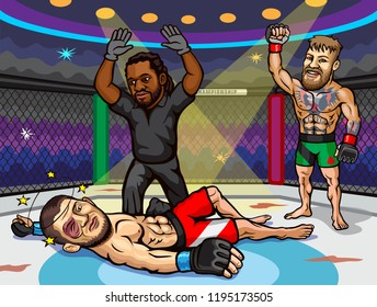 UFC 229: Khabib vs. McGregor is an upcoming mixed martial arts event produced by the Ultimate Fighting Championship that will be held on October 6, 2018 at T-Mobile Arena in Paradise, Nevada