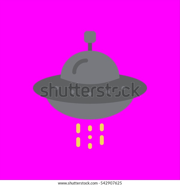 ufo icon flat disign