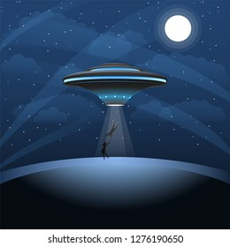 Ufo Kidnaps Man