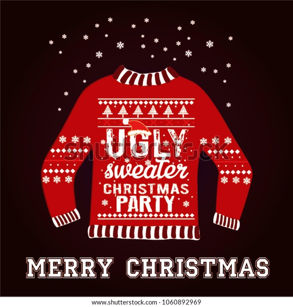 Ugly christmas party sweater