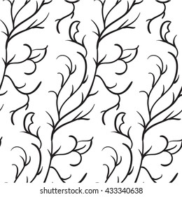 Ugly simple black foliage pattern