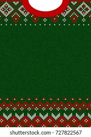 Ugly Christmas Sweaters Patterns.Ugly Christmas Sweater Images Stock Photos Vectors
