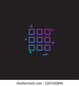 UI icon deisgn vector