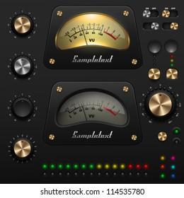 UI Kit, audio equipment