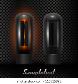 UI Kit Elemens, Glass vacuum tubes