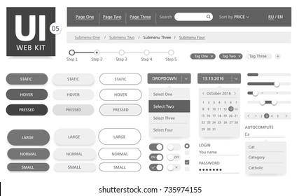 Ui Button Images, Stock Photos & Vectors | Shutterstock