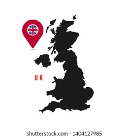 Map Of Uk Template.Uk Shape Images Stock Photos Vectors Shutterstock