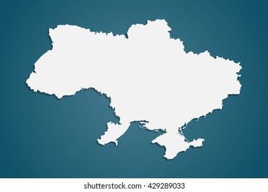 Ukraine vector. Ukraine vector map. White ukraine illustration. Ukraine map isolated. Ukraine vector illustration. Ukraine background. Ukraine.