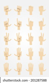Ultimate Cartoon Hands Collection - Asian 2.