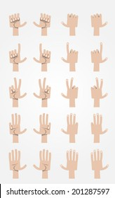 Ultimate Cartoon Hands Collection - Caucasian 2.
