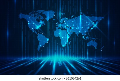 Hd wallpapers stock images royalty free images vectors ultra hd abstract world map technology wallpaper suitable for application desktop banner background gumiabroncs Gallery