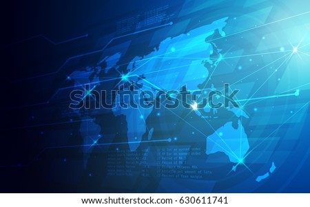 Ultra hd abstract world map technology stock vector royalty free ultra hd abstract world map technology wallpaper suitable for application desktop banner background gumiabroncs Images