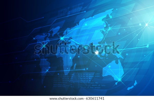Immagine Vettoriale Stock 630611741 A Tema Ultra Hd Abstract World