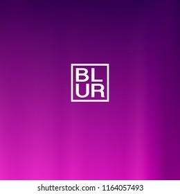 Ultra violet, blue, pink holographic background. Vibrant blur iridescent design. Foil neon trendy banner. Pastel future element. Modern gradient cover. Foil holographic design. Bright soft gradient.