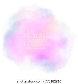 ultra violet watercolor splash