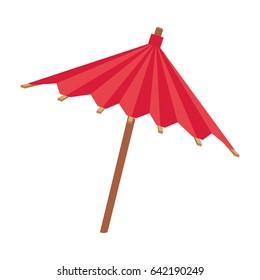 Umbrella cocktail decoration