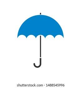 umbrella icon design. vector illustration