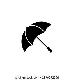 umbrella icon in trendy flat style