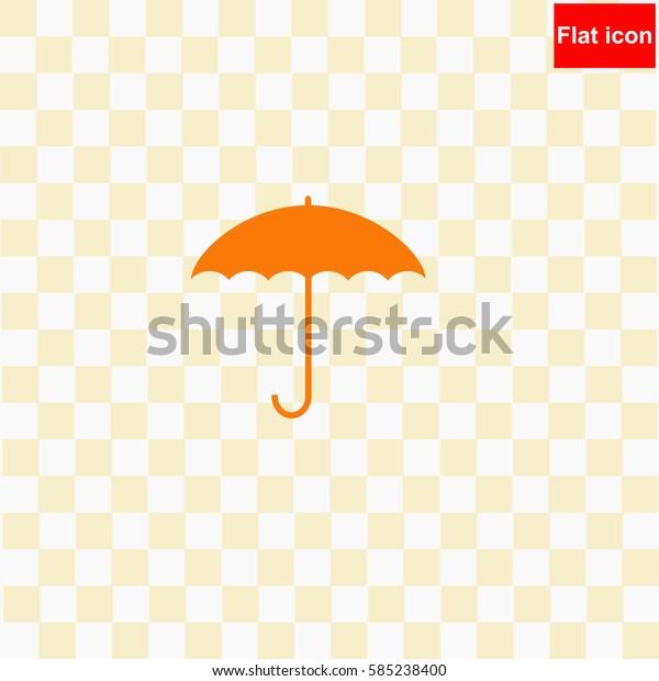 Umbrella  icon Vector design.