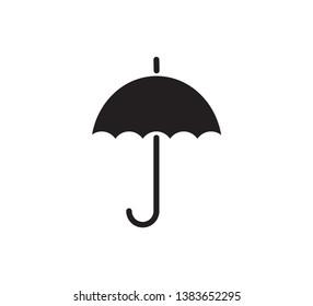 Umbrella icon vector flat style trendy