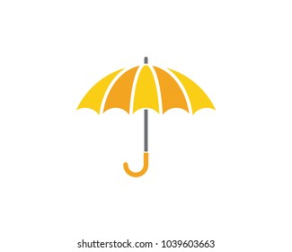 umbrella icon vector illustration template design