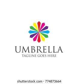 umbrella logo design