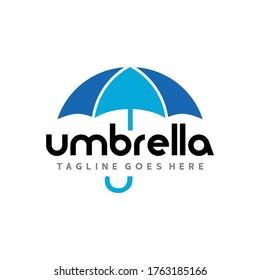 Umbrella Logo. Insurance Logo Design Vector